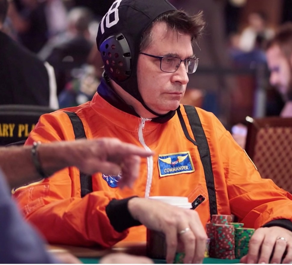 Steve Albini, legendary Big Black guitarist and Nirvana engineer, is also a poker champion