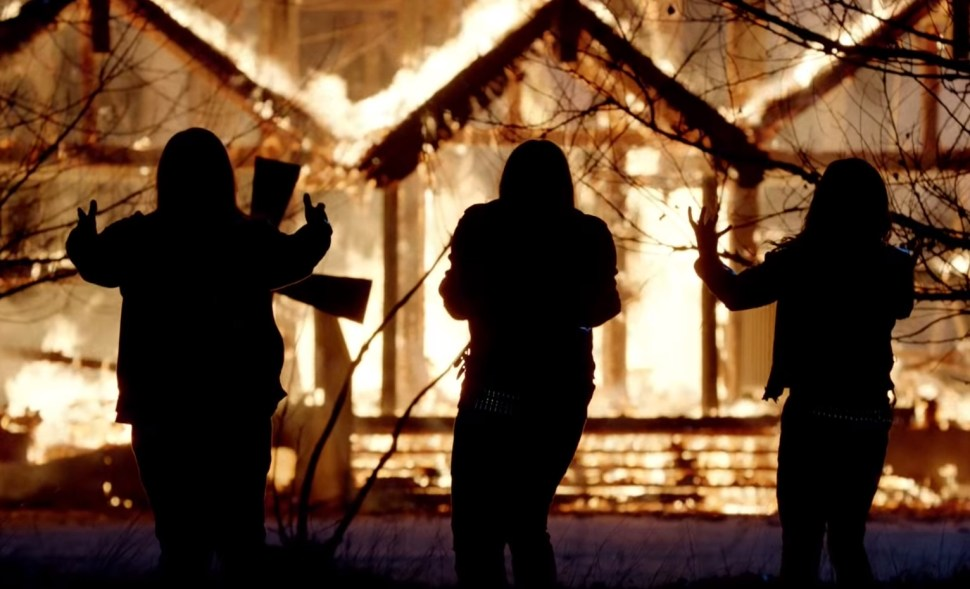 Trailer for  Lords of Chaos,  the horror-thriller about Norwegian black metal and murder