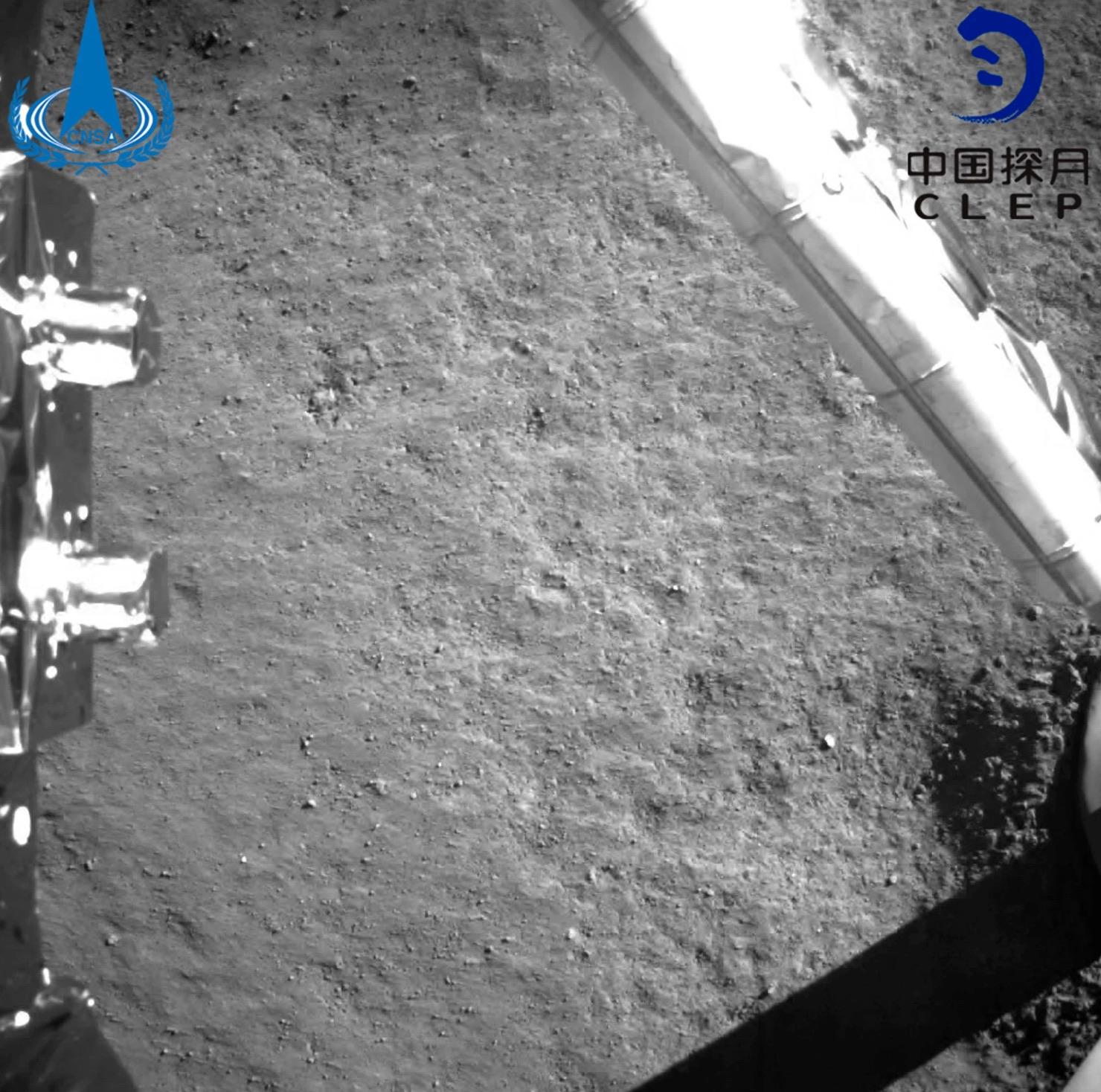 Luna sonda cinese foto