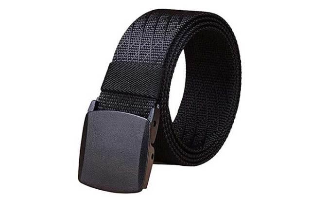 A belt that won't set off metal detectors