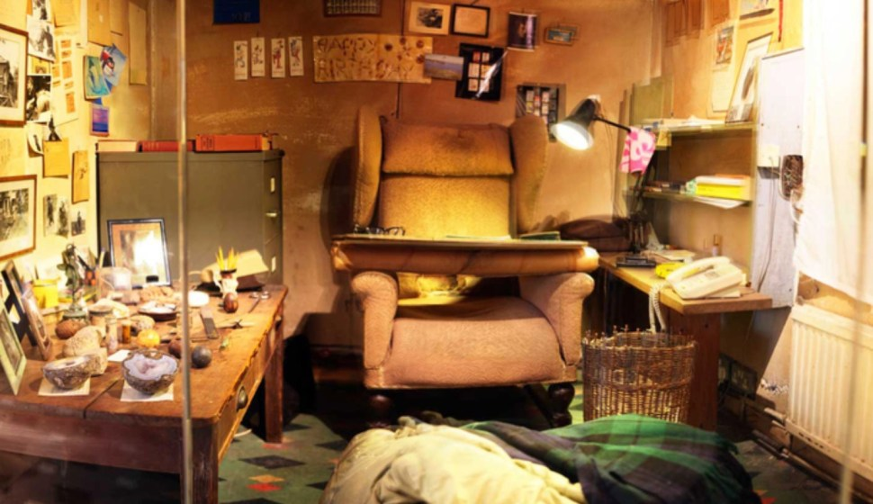 Inside Roald Dahl s backyard writing  hut
