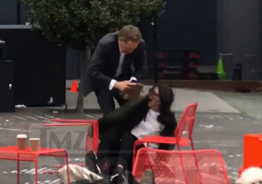 San Francisco Giants CEO filmed manhandling wife in public