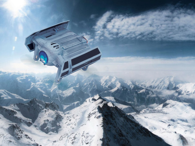 Fly space missions in your yard with this Star Wars drone