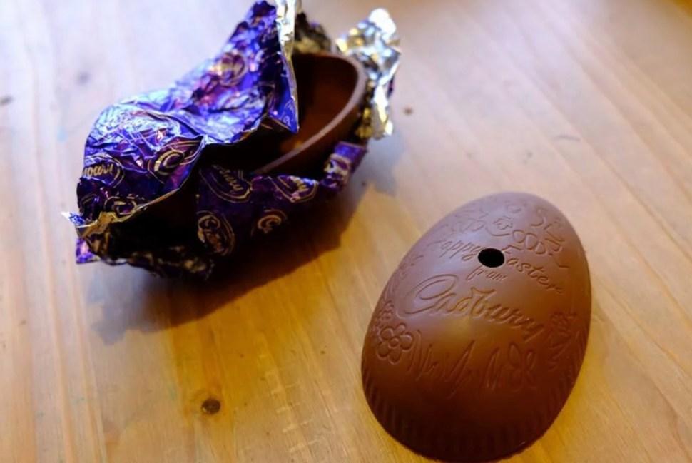 How to turn a chocolate easter egg into a pinhole camera