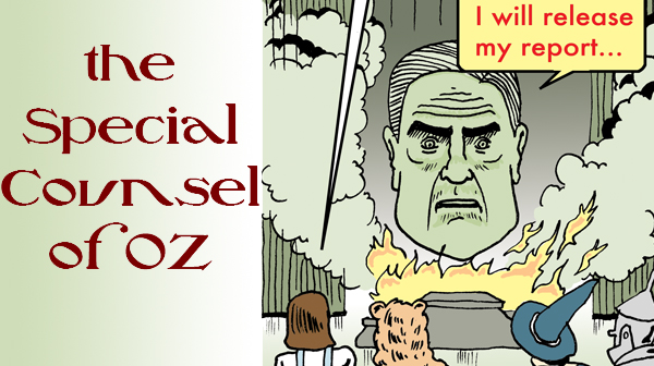 The Great and Powerful Special Counsel of OZ... Revealed!