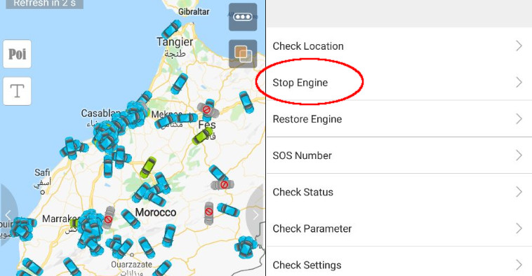 Vulnerabilities in GPS fleet-tracking tools let attackers track and immobilize cars en masse
