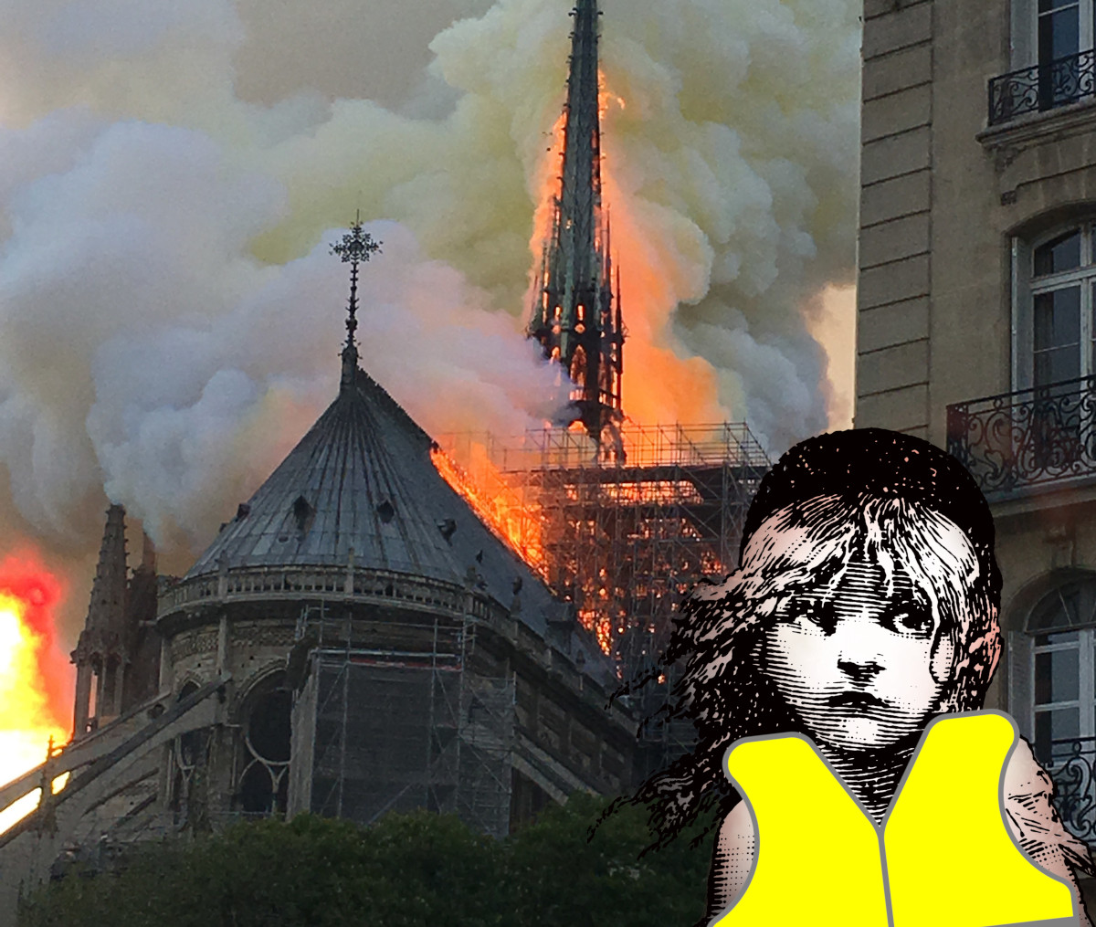 """After Notre Dame bailout Yellow Vests urge more Victor Hugo tributes, starting with """"Les Miserables"""""""