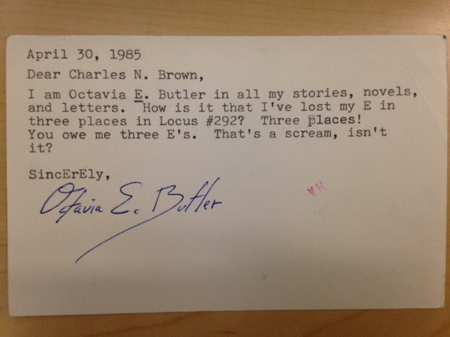 Duke University acquires the archives of Charles N Brown, founder of Locus Magazine