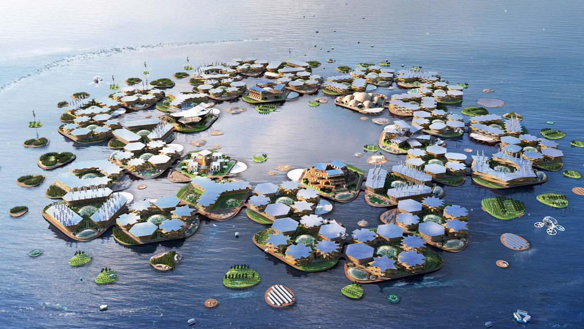 "UN partnership backs ""floating city"" research"
