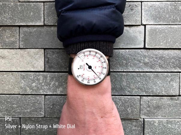 Gloriously impractical  pressure gauge  watch