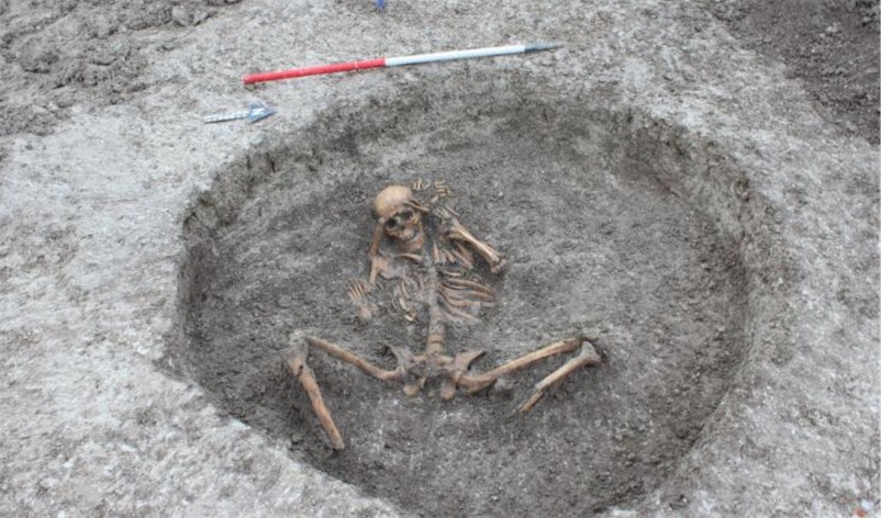 Water pipe dig in England unearths site of human sacrifices