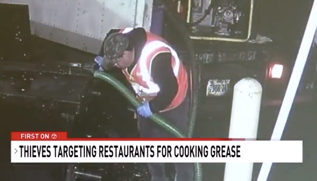Thief sucked used Burger King grease into 1,600 gallon truck container to resell for biofuel