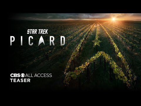 First trailer for 'Star Trek: Picard'