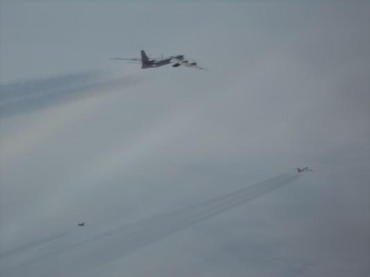 U.S. intercepts Russian bombers and fighter jets off Alaska coast