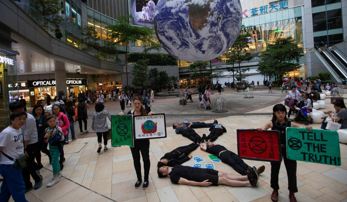 Three years after the Umbrella Revolution, Hong Kong has its own Extinction Rebellion chapter