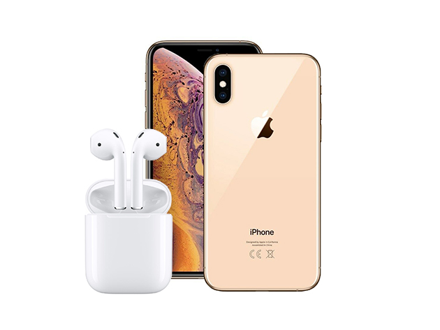 Enter for your last chance to win an iPhone XS Max and AirPods