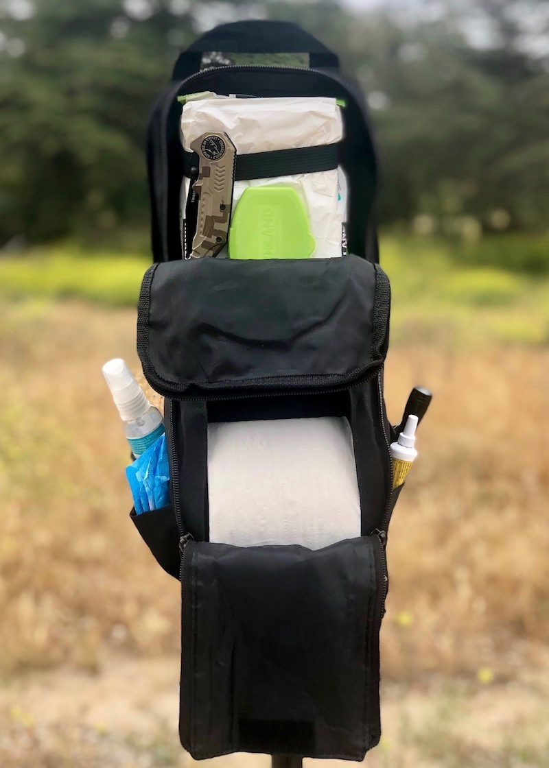The Booty Duty bag: tactical toiletry for camping, fishing and hunting
