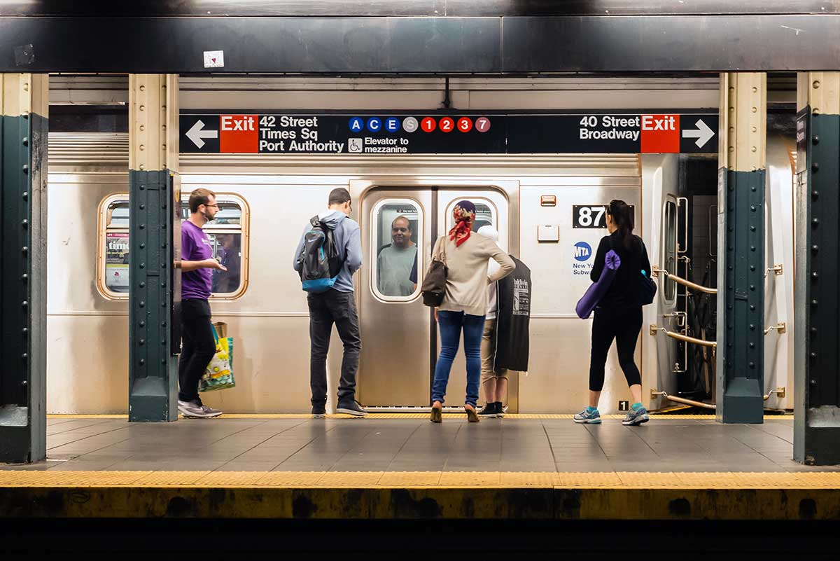 Asymmetric warfare: someone is pulling emergency brakes on NYC subway cars