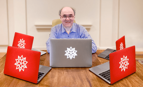 The history of Spikey, the Wolfram logo