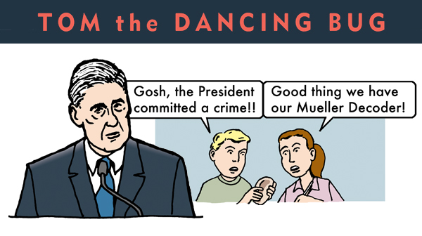 Get the Mueller Decoder, and decipher his cryptic statements!