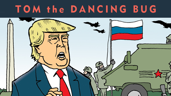Trump welcomes Russian military into U.S.A.