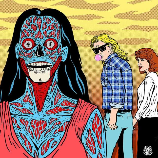 "Rob Israel's ""They Live"" meets ""Distracted Boyfriend"""