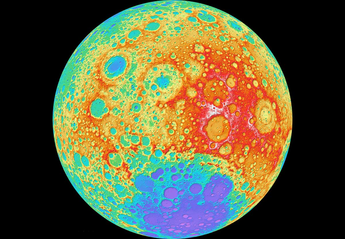 """Scientists discover 4.8 quintillion pound """"mystery blob"""" below the moon's surface"""
