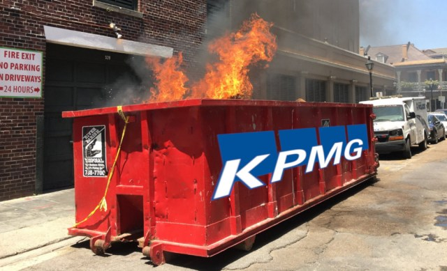 KPMG is in the middle of an unbelievably dirty cheating scandal that keeps on getting uglier