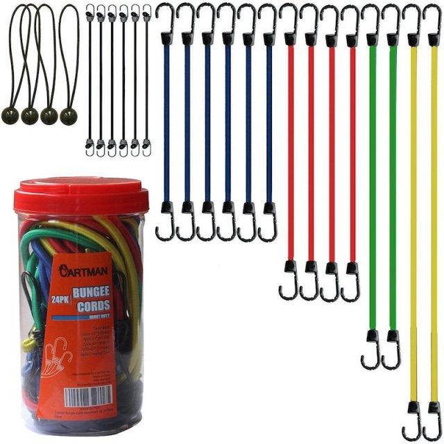 Bungie cords! Bungie cords! Bungie cords!