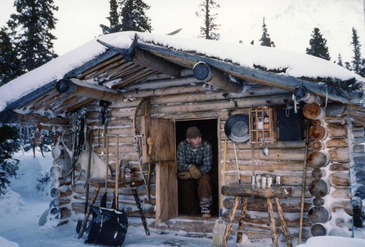 Richard Proenneke lived alone for 30 years in the Alaskan wilderness in a cabin he built himself