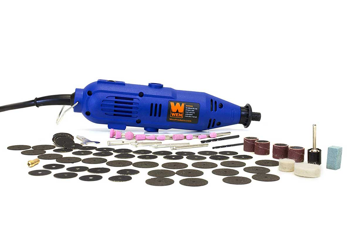 This excellent and very inexpensive Dremel compatible rotary tool is on sale again