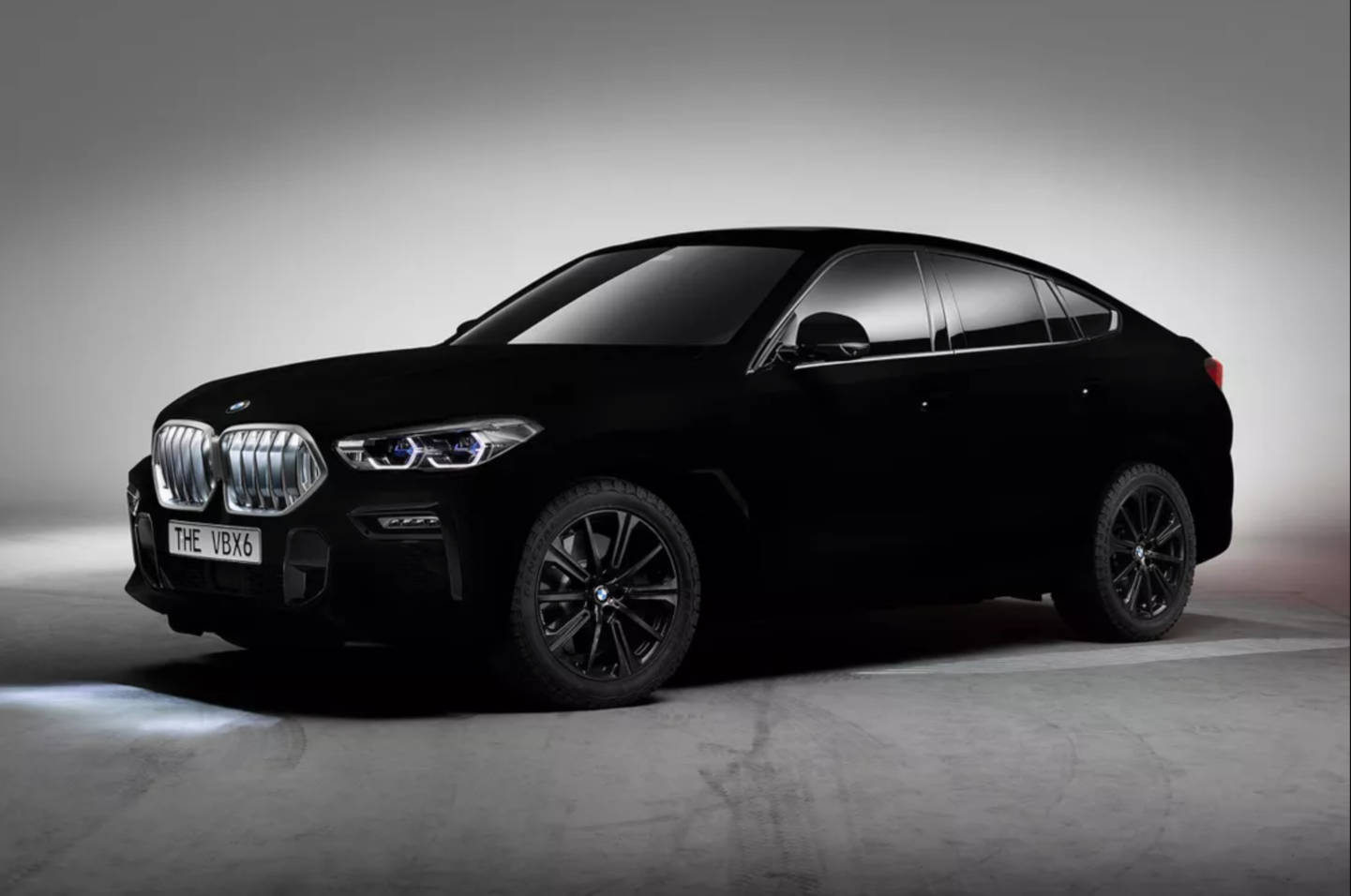 A Bmw Painted With Vantablack Boing Boing