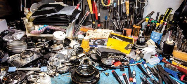 Inside NYC's slowly-vanishing repair shops