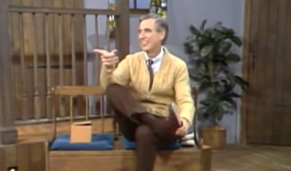 The real story behind Mister Rogers' joyful flipping of the