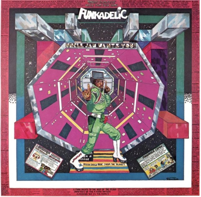 Pedro Bell, the psychedelic painter behind Funkadelic's visual vibe, RIP