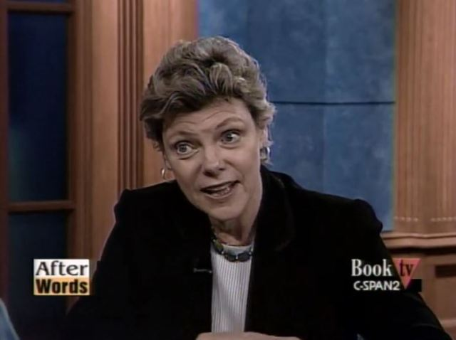 """Cokie Roberts describes the """"fondling fathers"""" and the pregnant women they left behind after negotiating the Missouri Compromise"""