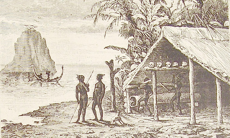 In 1868 a Scottish castaway had to make a new life among the people of the Solomon Islands