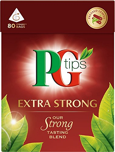 PG Tips 'Extra Strong' is a perfectly drinkable strong black tea