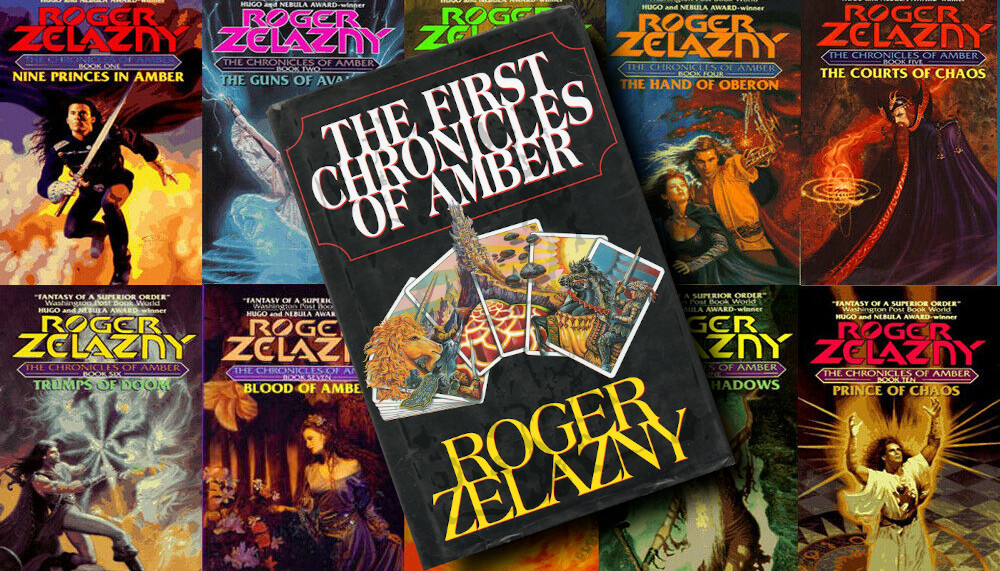 The lost audiobooks of Roger Zelazny reading the Chronicles of Amber