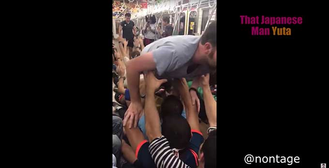 Why Japanese are angry over French soccer fans who behaved like idiots on a train