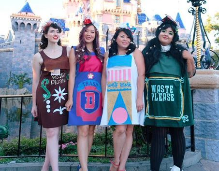 TIL Disneyland will permit adult cosplay of trash cans