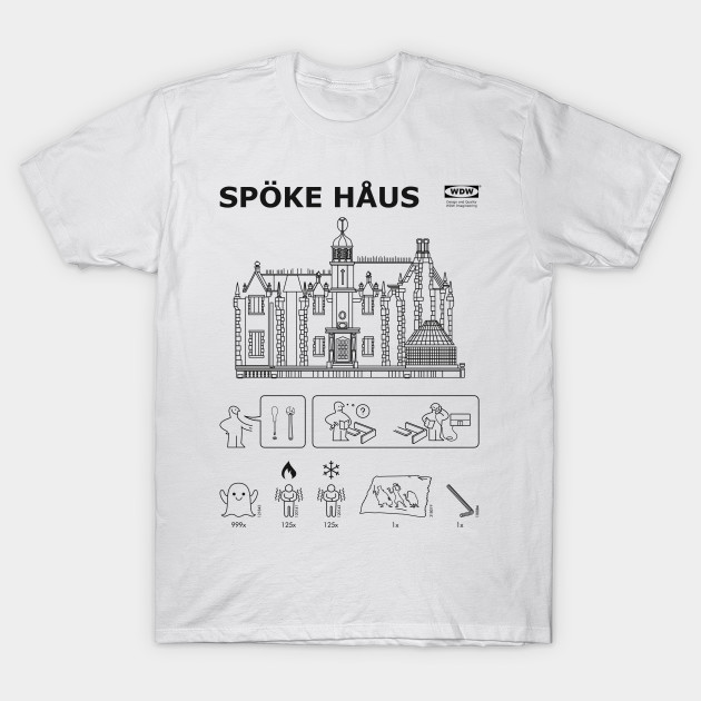 Haunted Mansion/Ikea mashup tee