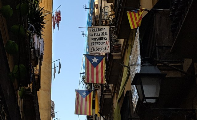 Catalan independence movement declares a general strike in Barcelona