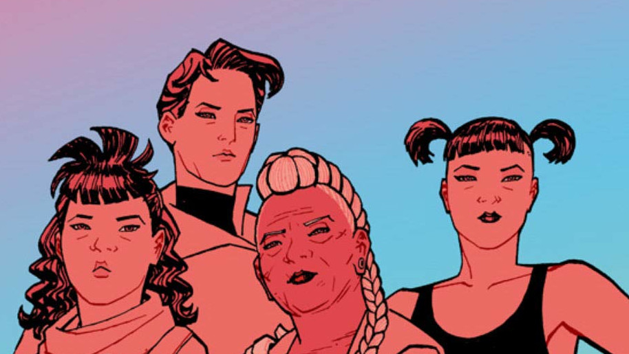 Brian K Vaughan and Cliff Chiang bring Paper Girls in for a perfect landing