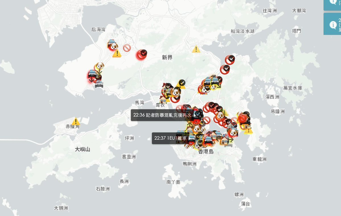 Apple reverses ban on HKmap.live app tracking Hong Kong protests & police