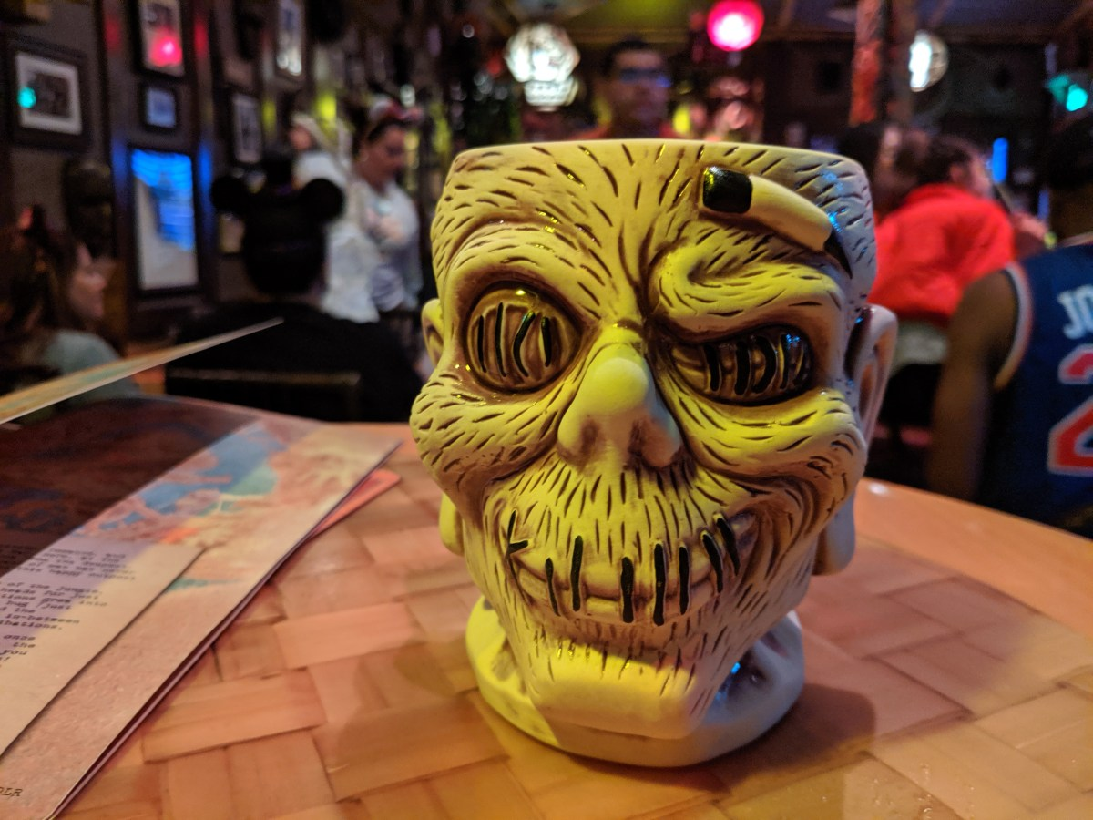 A visit to Trader Sam's Enchanted Tiki Bar at Disneyland, plus a look at some of its swell merch