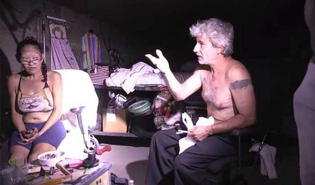 Short documentary about people living in tunnels under Las Vegas