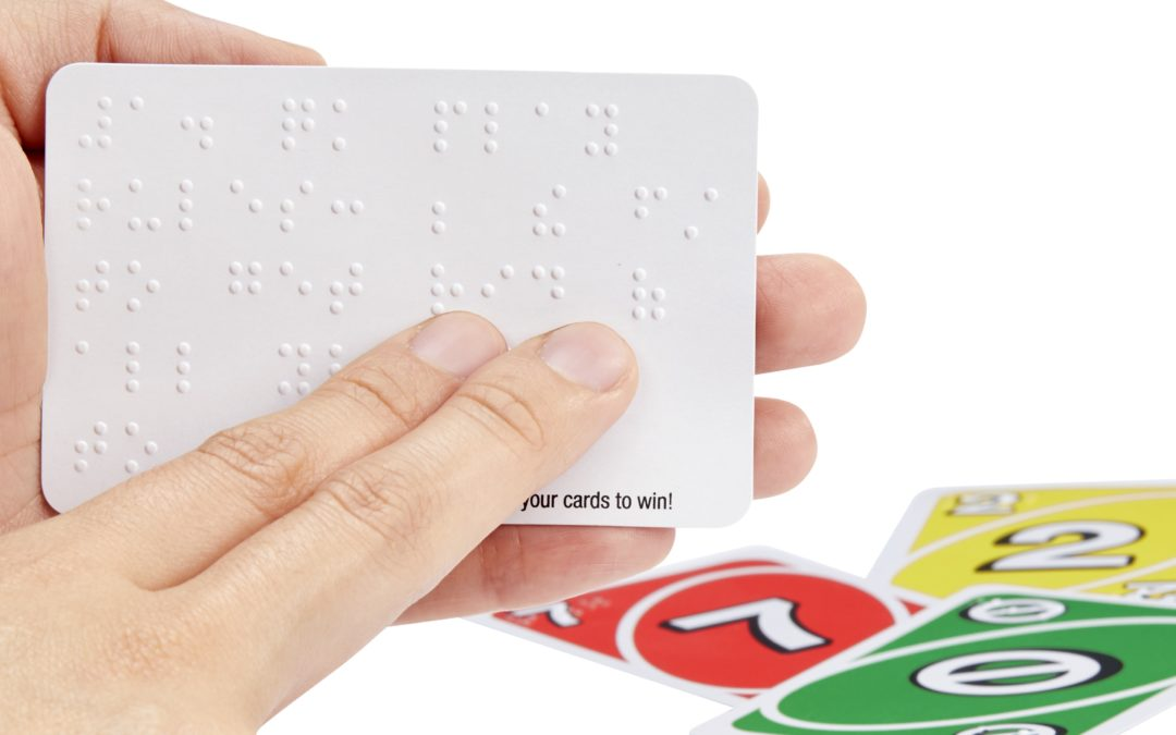 New Braille UNO allow visually impaired and sighted folks to play together