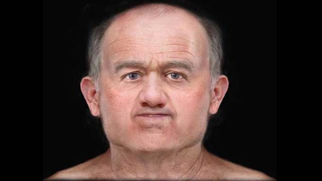 Archaeologists recreate face of man who lived 600 years ago in Scottland