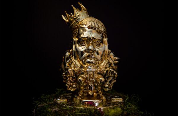 The Notorious B.I.G. as MODOK sculpture 2
